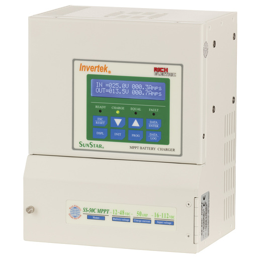 SunStar 50A Advanced MPPT Solar Charge Controller