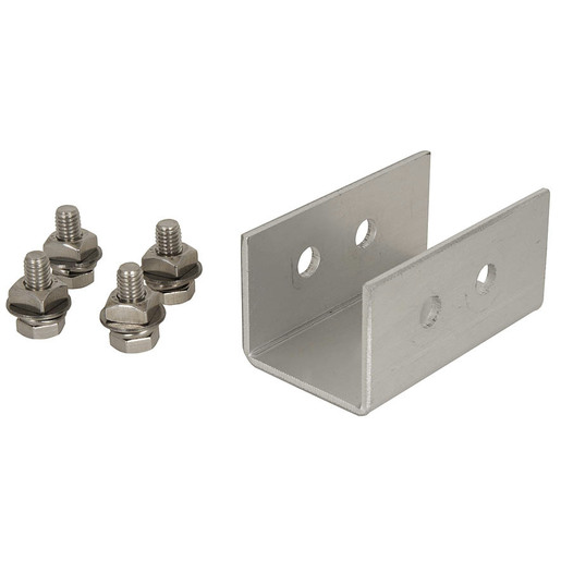 Solar Panel Extruded Rail Joiner Bracket 80mm